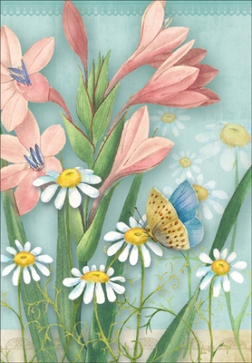 MBL11 - Butterfly Note Card