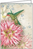 MBL14 - Blank Hummingbird Note Card