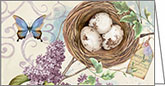 MPP229 - Lilacs and Bird Nest Pocket Planners