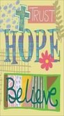 NPP226 - Trust, Hope, Believe Pocket Planners
