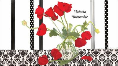 GPP227 - Red Poppies Pocket Planners