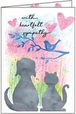 P1416 - Loss of pet sympathy cards