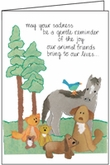 P412 - Animal Death Sympathy Cards