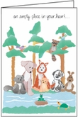 P424 - Pet Loss Sympathy Cards