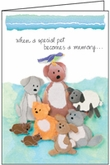 P482 - Condolence Cards for Pets