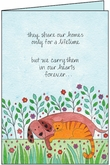 P5405 - Forever Pet Sympathy Card