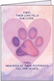 P9484 - Pet Loss Condolence Cards