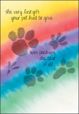 PH441 - Condolence Cards for Animals
