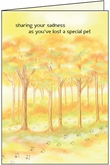 PH459 - Sadness Pet Sympathy Cards