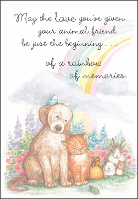 PM403 - Loss of Pet Greeting Cards