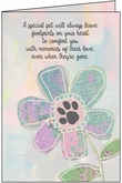 PN414 - Loss of pet sympathy cards