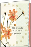PU427 - Treasured Friend Pet Sympathy Cards