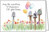 QBL24 - Mail Boxes Birthday Card