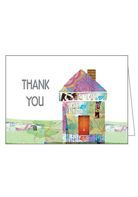 real estate thank you cards - Real Estate Thank You Notes Card