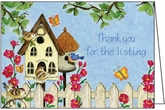 REJ07 - Thank You Listing Card