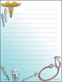 RNP03 - Tools of Nursing Note Pad