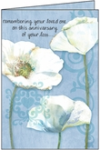 S1207H - Anniversary of Loss Card to Celebrate a Life