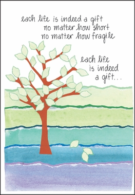 S205 - Loss of Child Sympathy Cards