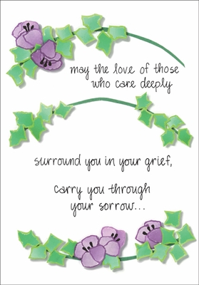 S212 - Find Peace Sympathy Cards