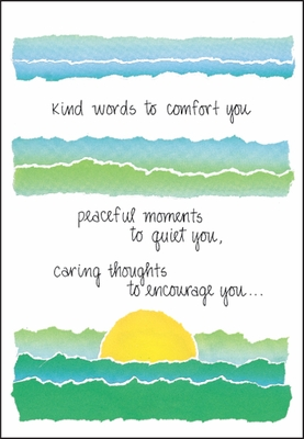 S226 - Peaceful Moments Encouragement Cards
