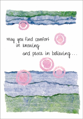 S234H - Comfort and Peace Support Cards