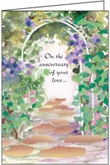 S261H - Remember Anniversary Greeting Cards