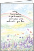 S4202H - Anniversary of Death Sympathy Card