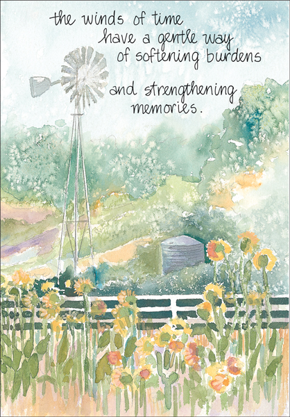Shop for comforting hospice cards it takes two inc s4214h winds of time death anniversary cards m4hsunfo