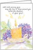 S4234H - Each Passing Year Anniversary of Loss Cards