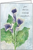 S9298H - Dearly Missed and Remembered Anniversary of Loss Cards
