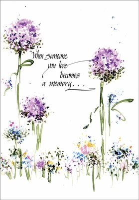 SF202 - Treasured Memories Sympathy Card