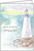 SM201 - Lighthouse Sympathy Cards