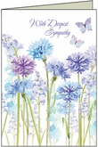 SU211 - Compassionate and Beautiful Sympathy Card