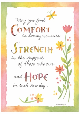 SU215 - Comfort, Strength, and Hope Sympathy Cards