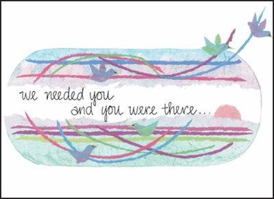 T13 - You Made A Difference Note Card
