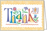 T1303 - Thanks You Note Cards