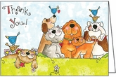 UBL04 - Thank You Pet Note Cards