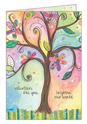 Volunteer Thank You Cards Save 50 Over Retail