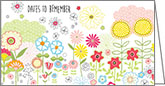 WPP233 - Cute Flowers Pocket Planners
