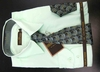 Men's L/S Dress Shirts W/ Tie & Handkerchief - Mint  (Ties Vary)