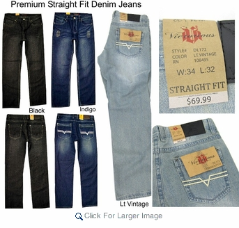 Premium Jeans by Victorious - Premium Straight Fit