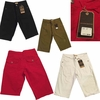 Wholesale Access Fray Bottom Color Shorts w/Roll-Up - $14.50/pc - M-ACC-3533