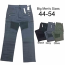 Wholesale Men's Stretch Cargo Moto Biker Jeans - $19.50/pc