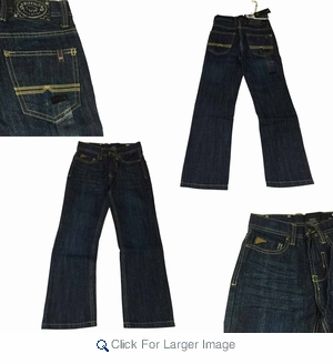 Wholesale Buffalo Boys Jeans  - $12.50 - M-BUF-2732-DK - Click to enlarge