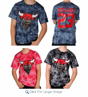 Wholesale Bullies 23 Dip Dye T-shirts - $10.50/pc - M-HGE-1BLY - Click to enlarge