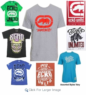 Wholesale Ecko Tees - $8.50/pc - M-ECK-1000A - Click to enlarge