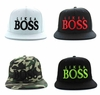 "Wholesale Embroidered ""Like A BOSS"" Snapback Hats - $4.50/pc"