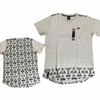 Wholesale Enyce Printed Long Tail T-Shirts - M-ENY-1243-GY - $8.50/pc