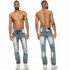 Wholesale Fashion Denim Rip Jeans - $14.50/pc - M-TRK-2512-IN