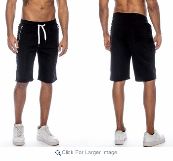 Wholesale Light Fleece Fashion Shorts - $9.50/pc. - Click to enlarge